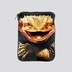 Grotesque Bearded Dragon Lizard iPad Sleeve