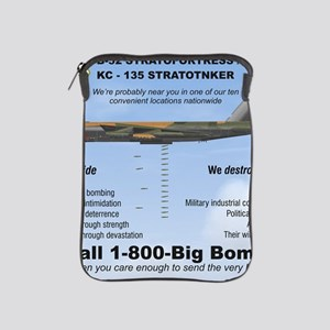 B-52 Stratofortress SAC 1-800-Big-Bomb iPad Sleeve