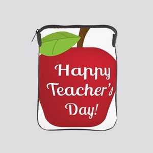Happy Teacher's Day Apple  iPad Sleeve