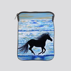 Running Free by the Sea 2 iPad Sleeve