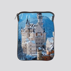 Castle In The Winter iPad Sleeve