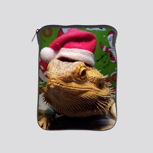 Beardie Santa Hat iPad Sleeve