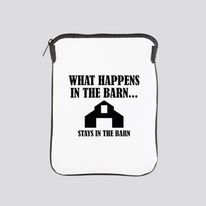 What Happens In The Barn iPad Sleeve
