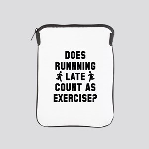 Running Late iPad Sleeve
