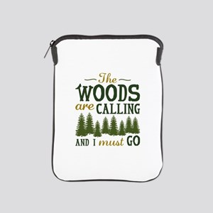 The Woods Are Calling iPad Sleeve