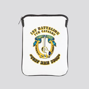 DUI - 1st Battalion 7th Cav VN 65 iPad Sleeve