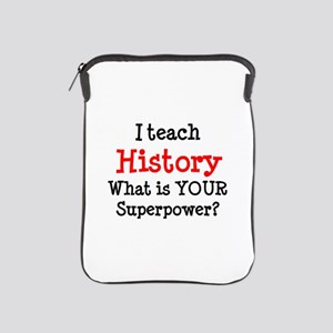 teach history iPad Sleeve
