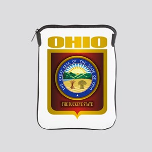 Ohio State Seal (B) iPad Sleeve