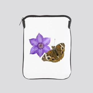 Squirrel Butterfly Flower iPad Sleeve