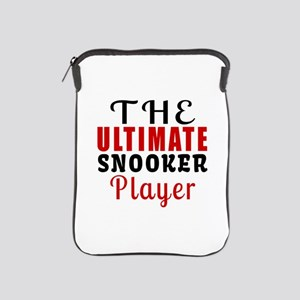 The Ultimate Snooker Player iPad Sleeve