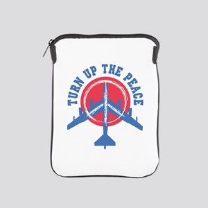 Turn Up The Peace iPad Sleeve