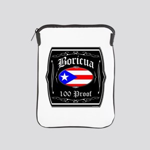 Boricua 100 Proof iPad Sleeve