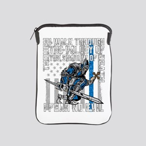 I Fear No Evil Police Crusader iPad Sleeve