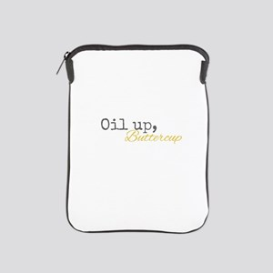 Oil Up Buttercup iPad Sleeve