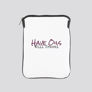 Have Oils Will Travel iPad Sleeve