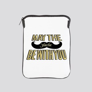 May the stache be with you iPad Sleeve