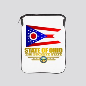 Ohio Flag iPad Sleeve