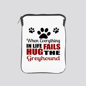 Hug The Greyhound iPad Sleeve