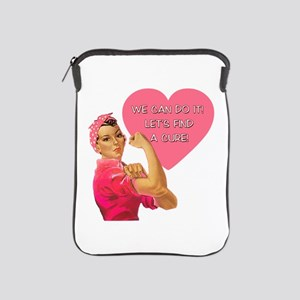 Rosie the Riveter Breast Cancer iPad Sleeve