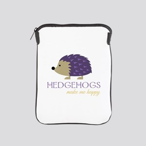 Happy Hedgehogs iPad Sleeve