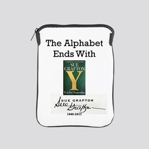 Alphabet Ends With Y iPad Sleeve