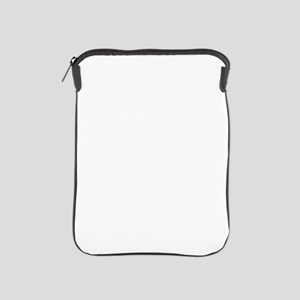 Gray Textured Ohio iPad Sleeve