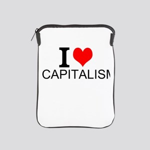I Love Capitalism iPad Sleeve