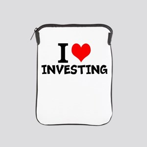 I Love Investing iPad Sleeve