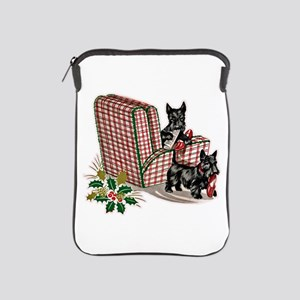Scottie Dog Christmas iPad Sleeve