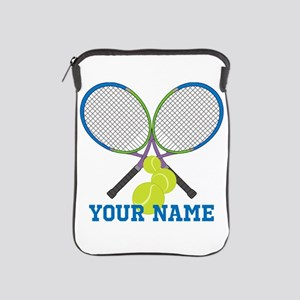 Personalized Tennis Player iPad Sleeve