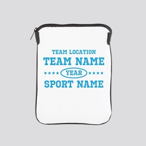 Sports Team Personalized iPad Sleeve