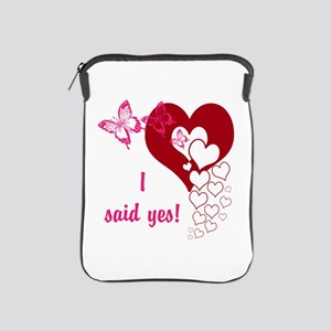 I Said Yes iPad Sleeve