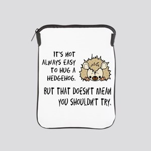 Hug a Hedgehog iPad Sleeve