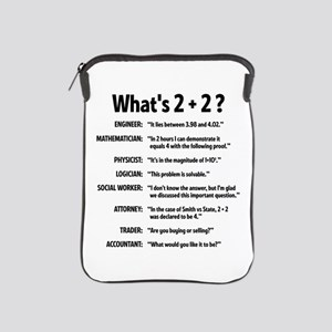 2 plus 2 iPad Sleeve