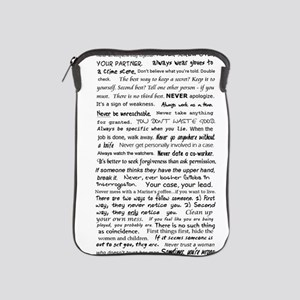 Rules of a Functional Mute iPad Sleeve