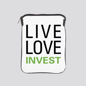 Live Love Invest iPad Sleeve