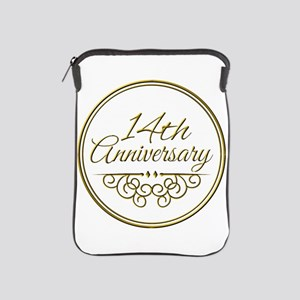 14th Anniversary iPad Sleeve