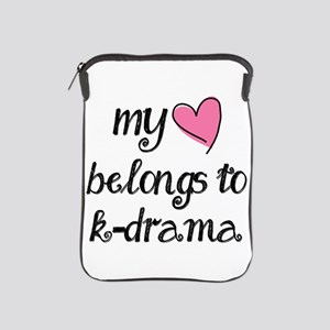 My Heart Belongs to K-Drama iPad Sleeve