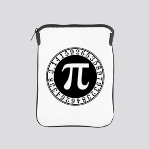 Pi sign in circle iPad Sleeve