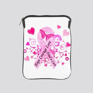 Pink Ribbon with Love iPad Sleeve
