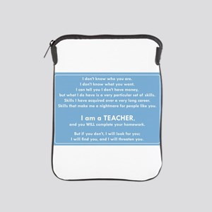 I will find you Do Your Homework iPad Sleeve