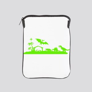 Dinosaur nativity Christmas iPad Sleeve