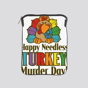 TurkeyMurderDay iPad Sleeve