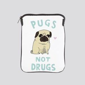 Pugs not drugs iPad Sleeve