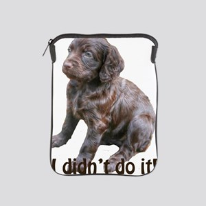boykin spaniel puppy iPad Sleeve