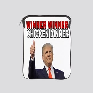 WINNER WINNER CHICKEN DINNER iPad Sleeve