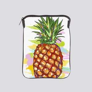 Cute PineApple Illustration iPad Sleeve