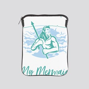 Mens Merdad Don't Mess With My Mer iPad Sleeve