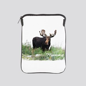Wyoming Moose iPad Sleeve