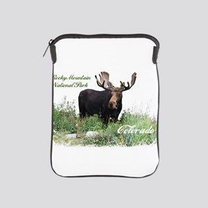 Rocky Mnt Natl Park Colo Moose iPad Sleeve